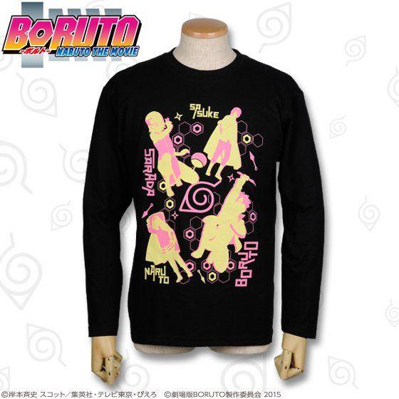 BORUTO -NARUTO THE MOVIE-  ボルト シルエットTシャツ