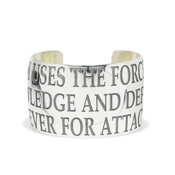 STAR WARS TM MESSAGE BANGLE L