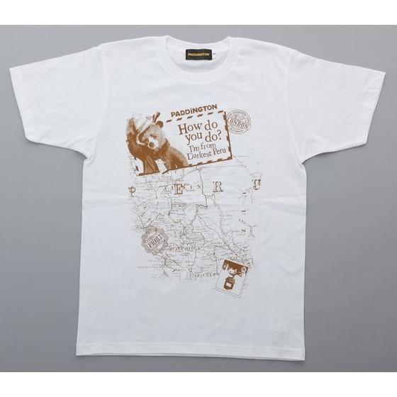 映画『パディントン』Tシャツ 地図柄