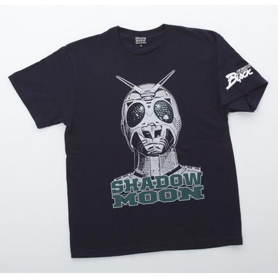仮面ライダーTシャツ×ノルソルマニア コラボ Tシャツ(シャドームーン)