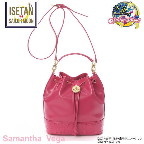 【Samantha Vegaコラボ】美少女戦士セーラームーン セーラー戦士巾着型フェイクレザーバッグ
