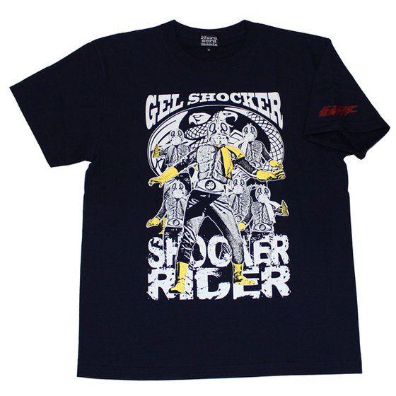 仮面ライダーTシャツ×ノルソルマニア コラボ Tシャツ(ショッカーライダー)