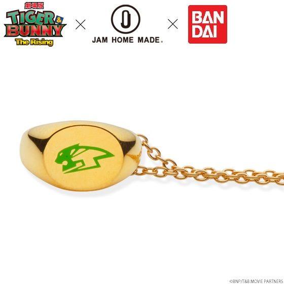 【再販】劇場版 TIGER & BUNNY -The Rising-×JAM HOME MADE ネックレス K10 YELLOW GOLD