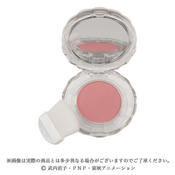 ミラクルロマンス クリアコンパクトチークカラー ピュアピンク | シルキーオレンジ