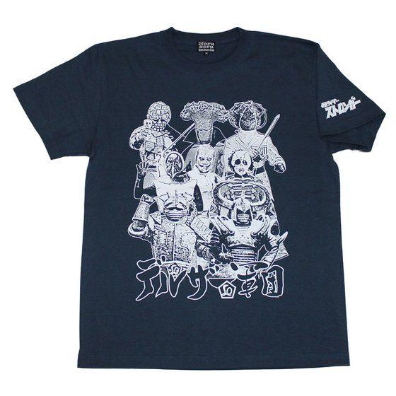 仮面ライダー×ノルソルマニア コラボTシャツ(仮面ライダーストロンガー・ デルザー軍団)
