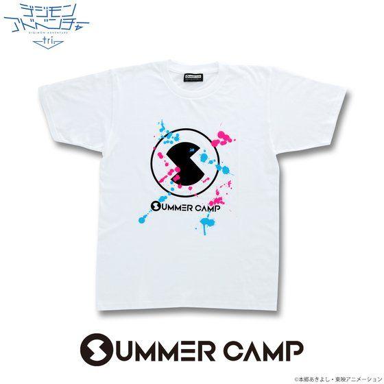 デジモンアドベンチャーtri. SUMMER CAMP Tシャツ(ペイント)