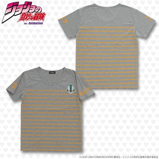 ジョジョの奇妙な冒険 ワッペンTシャツ エコーズACT3