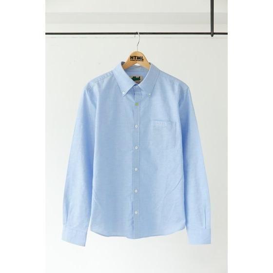 TIGER & BUNNY×HTML Guttarelax I'm NEXT オックスフォードシャツ