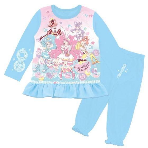 キラキラ☆プリキュアアラモード そでピカ!光るパジャマ