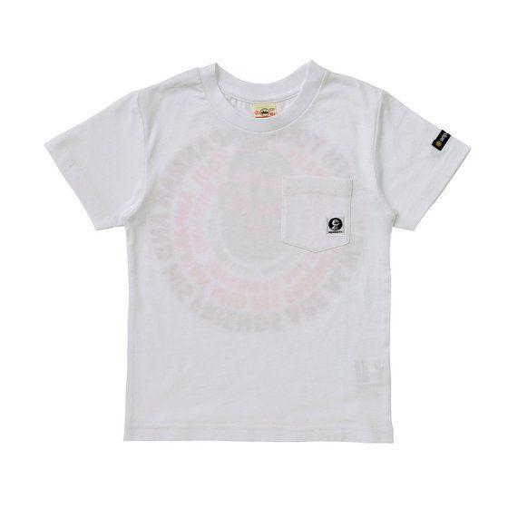 グラフィックTシャツ サークルグラデーション柄