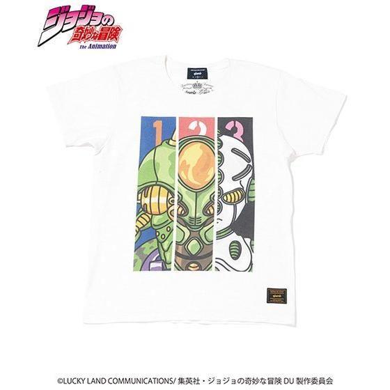 ジョジョの奇妙な冒険【GLAMB】Tシャツ エコーズ