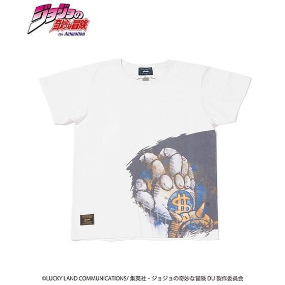 ジョジョの奇妙な冒険【GLAMB】Tシャツ ザハンド