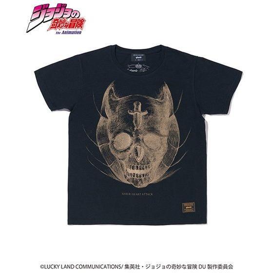 ジョジョの奇妙な冒険【GLAMB】Tシャツ シアーハートアタック