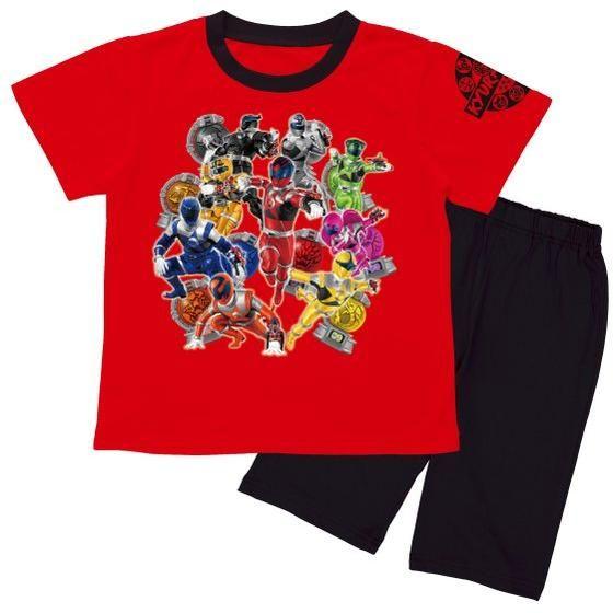 宇宙戦隊キュウレンジャー カジキキュータマ付き半袖パジャマ