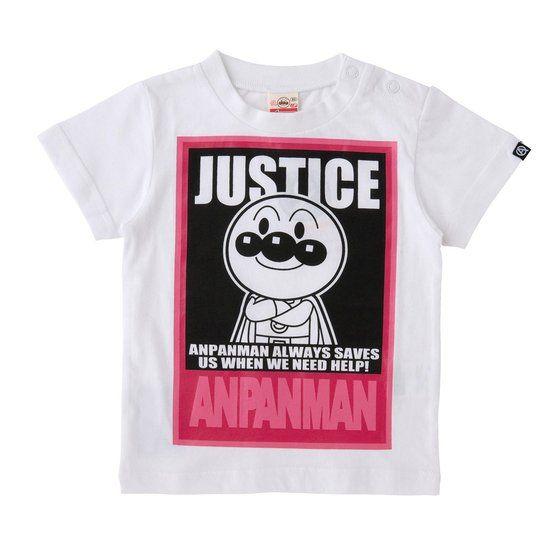 グラフィックTシャツ JUSTICE柄