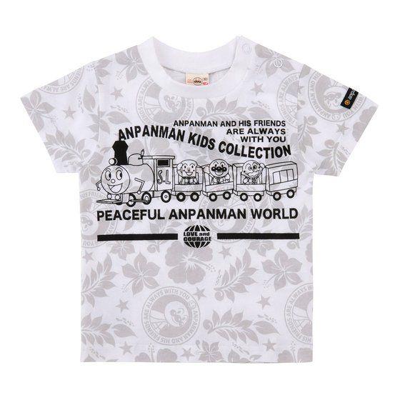 グラフィックTシャツ SLマン柄
