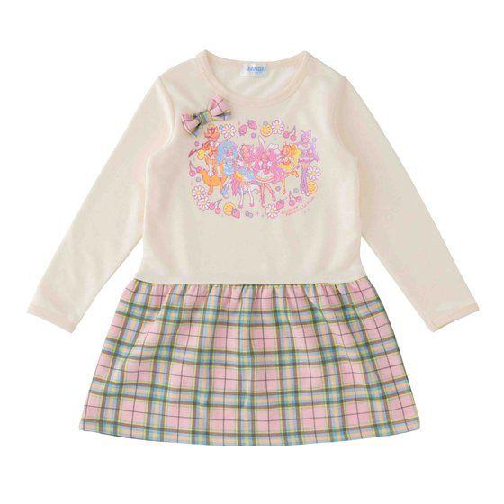 キラキラ☆プリキュアアラモード ミニ裏毛ワンピースA