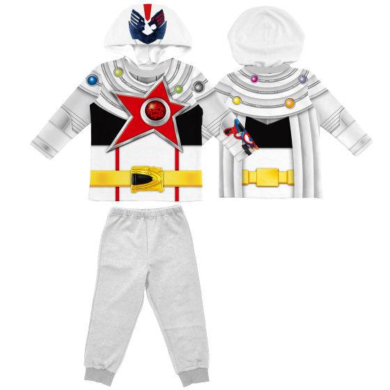 宇宙戦隊キュウレンジャー 変身リアルプリントパジャマ シシレッドオリオン