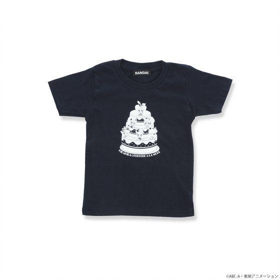 キラキラ☆プリキュアアラモード 親子Tシャツ こども用 (ケーキ柄)