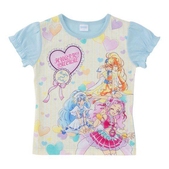HUGっと!プリキュア パネルTシャツA