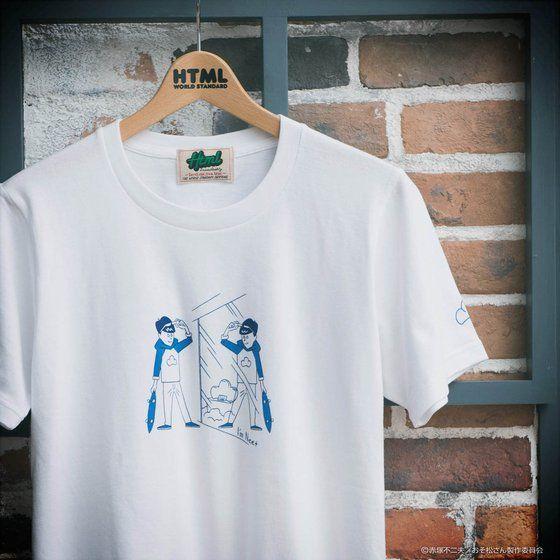 おそ松さん×HTML ZERO3×BANDAI I'mNeet タケウチアツシ Tシャツ
