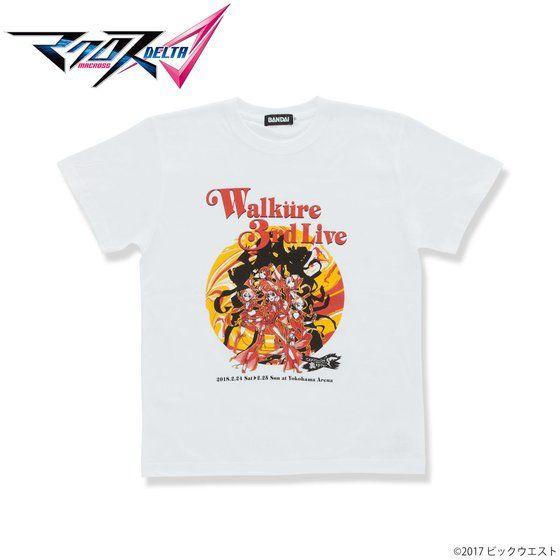 マクロスΔ WALKURE 3rd LIVE Tシャツ