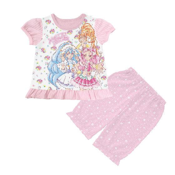 HUGっと!プリキュア 勇気がでる光るパジャマ