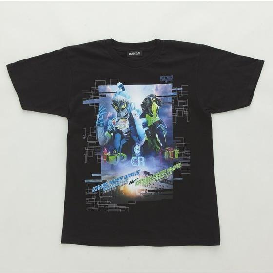 仮面ライダーエグゼイド トリロジー柄Tシャツ 仮面ライダーブレイブ&スナイプ