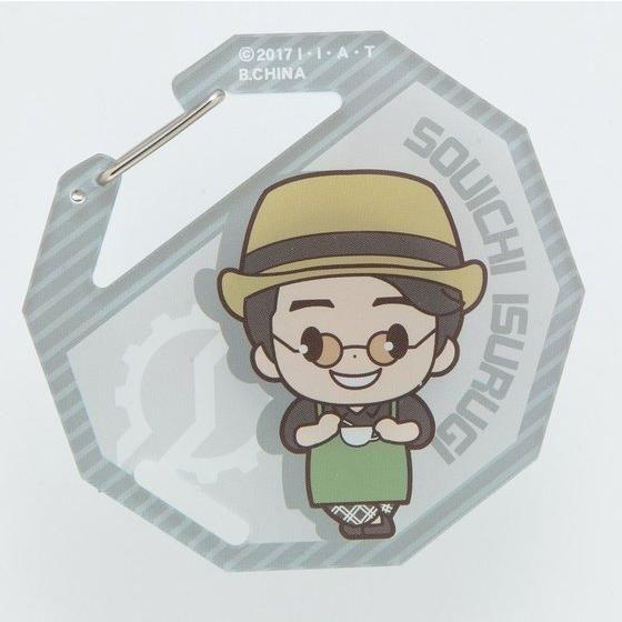 仮面ライダービルド アクリルカラビナ デフォルメキャラクター柄