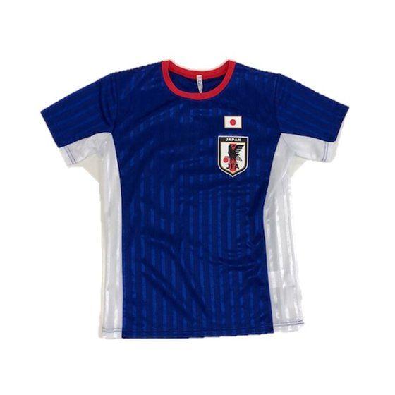 サッカー日本代表オフィシャルライセンスグッズ ブライトスムース半袖Tスーツ
