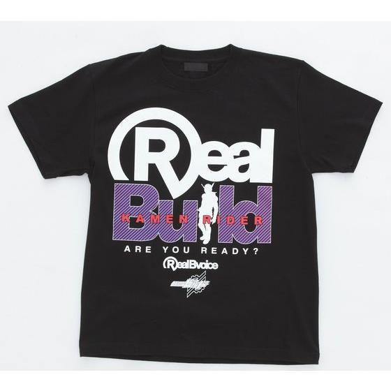 仮面ライダービルド×RealBvoice ロゴ柄Tシャツ