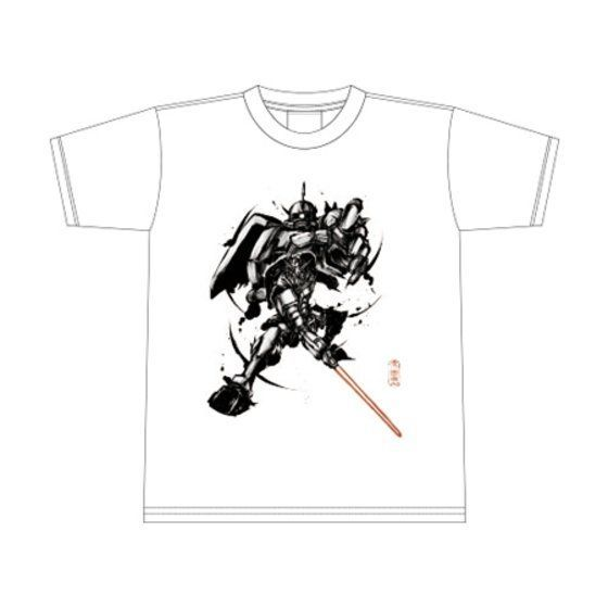 武人画×機動戦士ガンダム Tシャツ(宿命の閃刀)