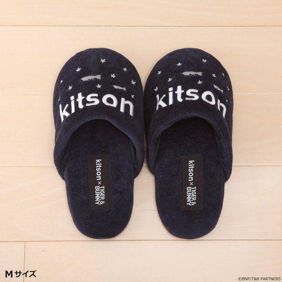 kitson × TIGER & BUNNY ルームシューズ&ポーチ ※オリジナルハンカチ付き【2018年11月発送予定】