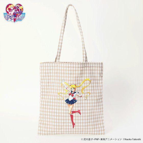 【キャセリーニコラボ】美少女戦士セーラームーンレトロトートバッグ