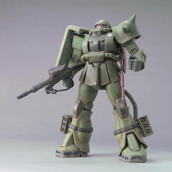 MG 1/100 MS-06J ザクII(重力戦線イメージカラーVer.)