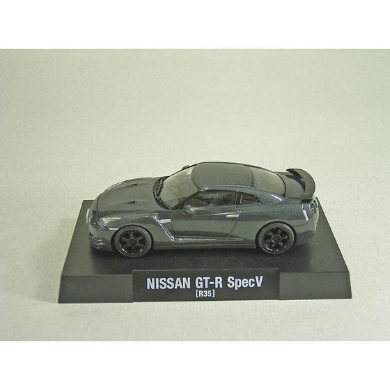 1/43NISSAN [R35] GT−R SpecV (Dark Metal Gray)