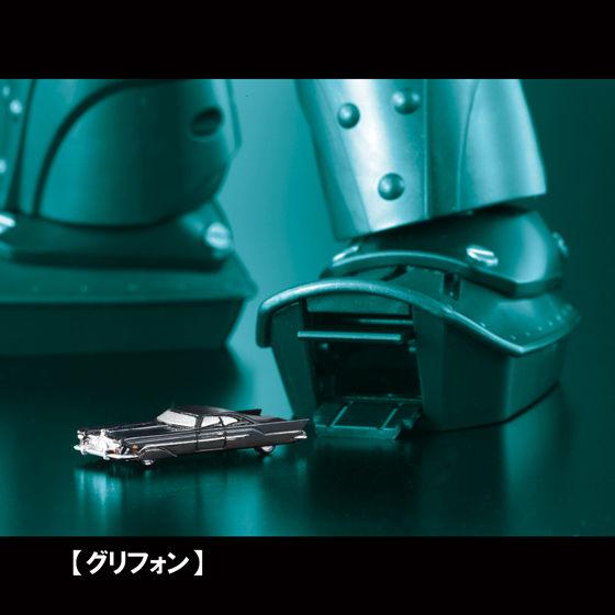 超合金魂 GX-48 ビッグオー専用 拡張パーツセット