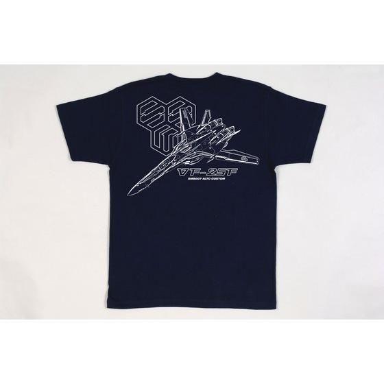 マクロスF Tシャツ VF−25F ネイビー