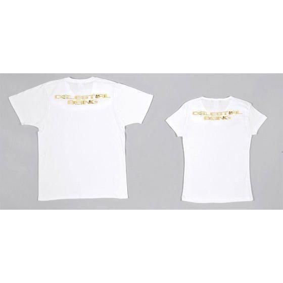 機動戦士ガンダム00 Tシャツ ソレスタルビーイング 白×金箔