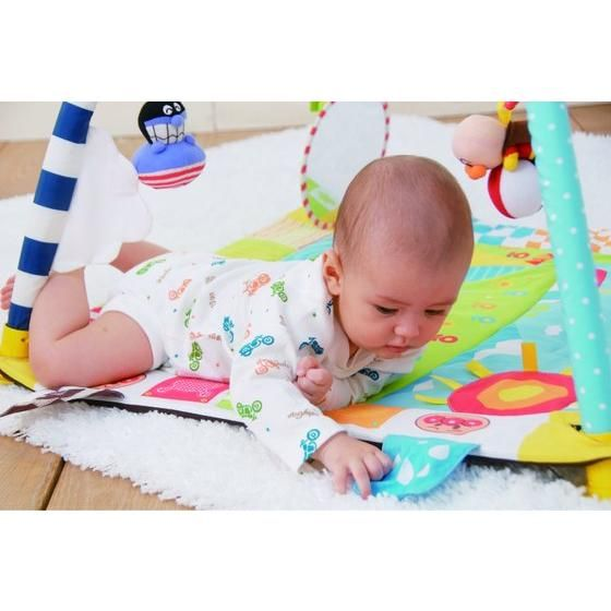 BabyLabo(ベビラボ) ステップごとの刺激と遊び♪すくすくプレイマット