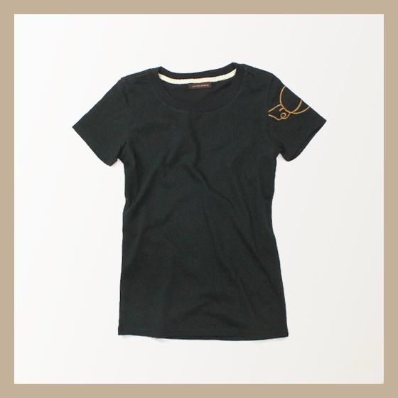 C&YSUN&C&LEMOON  Captain EmbroideryTシャツ  (キャプテン)