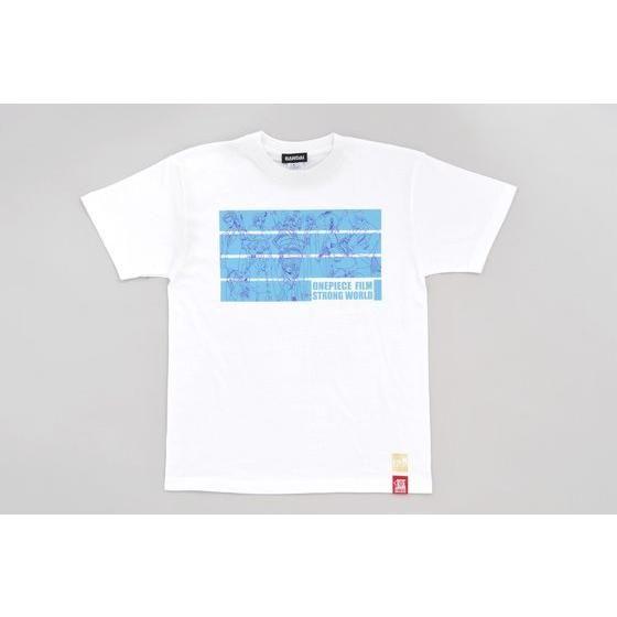 劇場版ワンピース「STRONG WORLD」 麦わら一味Tシャツ