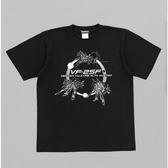 劇場版マクロスF バルキリー3段変形柄 Tシャツ