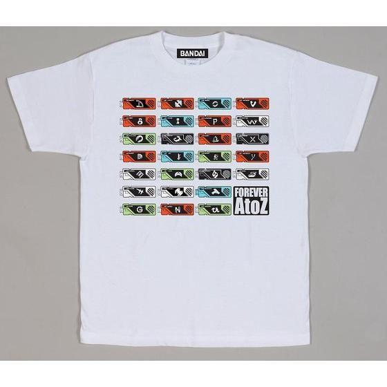 劇場版仮面ライダーW A to Z ガイアメモリTシャツ