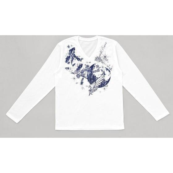 天装戦隊ゴセイジャー 地球儀Vネック長袖Tシャツ