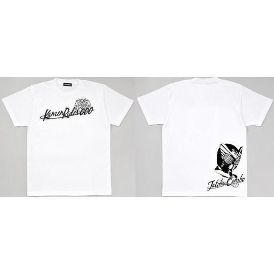 仮面ライダーオーズ タトバコンボ顔柄Tシャツ