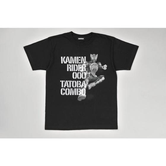 仮面ライダーオーズ タトバコンボ全身柄Tシャツ