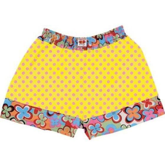 仮面ライダーオーズ 映司コレクション パンツ(トランクス)花柄 黄色×ピンク水玉