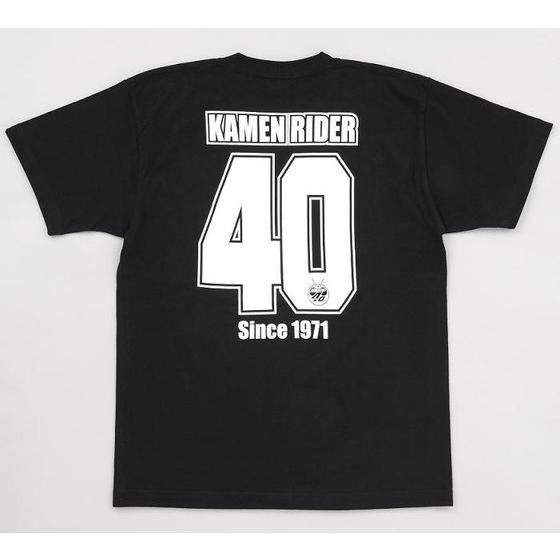 仮面ライダー40th オールライダーデフォルメ柄 Tシャツ
