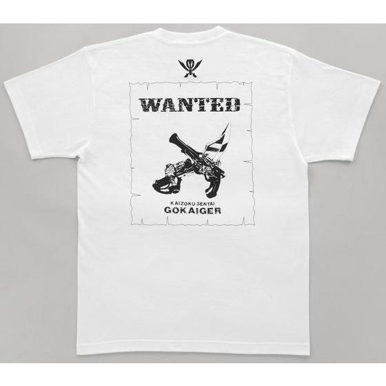 海賊戦隊ゴーカイジャー 手配書柄Tシャツ